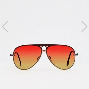 Sunset aviator sunglasses